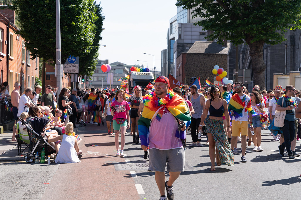 ABOUT SIXTY THOUSAND TOOK PART IN THE DUBLIN LGBTI+ PARADE TODAY[ SATURDAY 30 JUNE 2018] X-100206