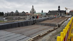 Baustelle Augustusbrücke (Thomas230660) Tags: städte dresden sony sachsen baustelle architektur augustusbrückedresden citys