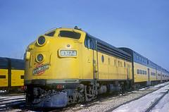 C&NW F7 4087A (Chuck Zeiler) Tags: cnw f7 4087a railroad emd locomotive westchicago train chuckzeiler chz