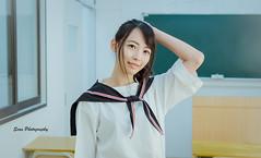 DSCF4608 (john0908heart1) Tags: sean fuji 人像 外拍 portrait sean拾光印象 制服