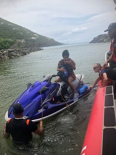Coast Guard boat crew rescues 2 watercraft riders in the U.S. Virgin Islands