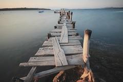 PIER (Ömer Ünlü) Tags: longexposure nd1000 ndfilter nd exposure lazyshutter tripod pier dock wood sea ocean nisi nisind1000 nature water background life omerunlu turkey