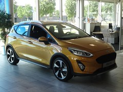 New Ford Fiesta Active (harry_nl) Tags: netherlands nederland 2018 demeern ford fiesta active showroom utrecht