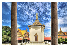 Phnom Penh K - The throne hall inside the Royal Palace complex 08 (Daniel Mennerich) Tags: phnompenh cambodia