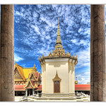 Phnom Penh K - The throne hall inside the Royal Palace complex 08 thumbnail