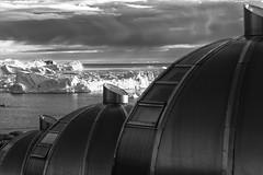 Igloo, Arctic Hotel (Role Bigler) Tags: arctichotel canoneos5dsr ef4070200isusml hotelarctic ilulissat natur nature schwarzweiss blackwhite blackandwhite eisberg greenland grönland iceberg igloo nordatlantik northatlantic wilderness