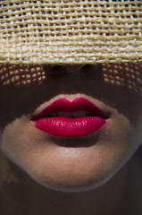 Summertime!! (Marco_964) Tags: pentaxk50 pentax pentax1685 lips red portrait summer redlips labbra estate ombra shadow reflex closeup