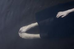 the waves has come (Moonpollution) Tags: dark darkart darkness grim water legs hands estetic art moonpollution murk artphoto blasphemy black dress ekkimukk moonpollutionart photographer darkside