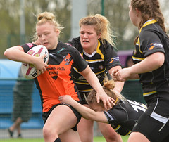 Wriggle Room (Feversham Media) Tags: yorkcityknightsladiesrlfc castlefordtigerswomenrlfc amateurrugbyleague rugbyleague york womenssuperleague yorkstjohnuniversity northyorkshire yorkshire sportsaction