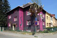 House of Lubo Kristek in Brno, Czech republic (paprtala) Tags: lubokristek artist surrealism brno czechrepublic