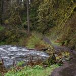 Silver Creek - Trail of Ten Falls National Recreational Trail thumbnail
