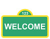 Sesame Street Welcome Sign (maddieandmarry) Tags: sesamestreet elmo 2nd birthday party welcome sign