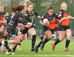 Mind The Gap (Feversham Media) Tags: yorkcityknightsladiesrlfc castlefordtigerswomenrlfc amateurrugbyleague womenssuperleague rugbyleague york northyorkshire yorkshire yorkstjohnuniversity sportsaction