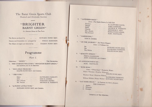 1927: Jan Programme 2
