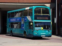 Arriva the Shires DAF DB250 (East Lancs Lowlander) 6062 FD02 UKE (Alex S. Transport Photography) Tags: bus outdoor road vehicle arriva arrivatheshires eastlancs eastlancslowlander elc daf db250 route50 6062 fd02uke
