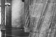 Lonja de la Seda (Lú_) Tags: valencia spain architecture blackandwhite bw monochrome gothic latemedieval