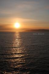 At the end of a beautiful day ... (katrinchen59) Tags: sundown horizon eveningsky sun sunlight water ocean sonnenuntergang horizont abendhimmel abenstimmung sonne sonnenlicht alalska travelphotography