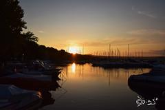 Ti penso... (Biagio ( Ricordi )) Tags: capodimonte viterbo borgo medievale paesaggio lazio italy lago lake bolsena tramonto sunset barca love amore