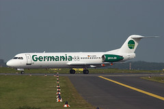 F100 D-AGPD Germania gexx (Avia-Photo) Tags: airport airline airliner aviacion aeroplane airplane aircraft airlines airliners aviation avion dus eddl flugzeug fokker luftfahrt plane planespotting pentax spotter