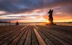 Sunset (Hegglin Dani) Tags: zug zugersee switzerland schweiz sunset sonnenuntergang sun sonne silhouette wolken afterglow abendrot abendstimmung eveningmood