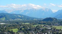 Salzburg, Tennengebirge seen from Castle Hohensalzburg [28.08.2014] (b16aug) Tags: geo:lat=4779449167 geo:lon=1304713612 geotagged altstadt austria aut salzburg