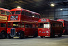 Sleepy Sunday (gooey_lewy) Tags: time line events bus garage shoot charter london transport buses night purfleet ensign busses depot re enactors renactors rt rm rf lt tle neil cave rm1843 rt325 running repairs fitter mechanic inspector