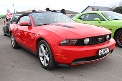 GJR  27 (ambodavenz) Tags: ford mustang gt convertible v8 car timaru southcanterbury newzealand usaclassiccarshow