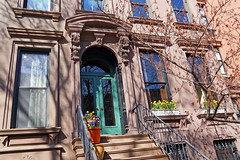 Park Slope, Brooklyn, NYC (SomePhotosTakenByMe) Tags: door tür entrance eingang brownstone urlaub vacation holiday usa america amerika unitedstates nyc newyorkcity newyork brooklyn stadt city outdoor parkslope gebäude building architektur architecture