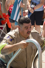 SONC SummerGames18 Tony Contini Photography_1371 (Special Olympics Northern California) Tags: 2018 summergames swimming fun letr police cop