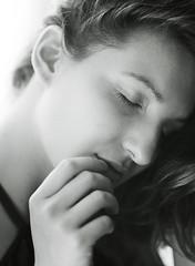 Naiya (strussler) Tags: portrait girl woman ilfordfp4 mamiya m645 carlzeissjena czj 120mmf28biometar pentaconsixmountlens autoextensionringno1