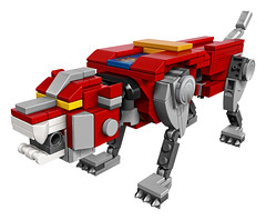21311 Voltron Red Sitting