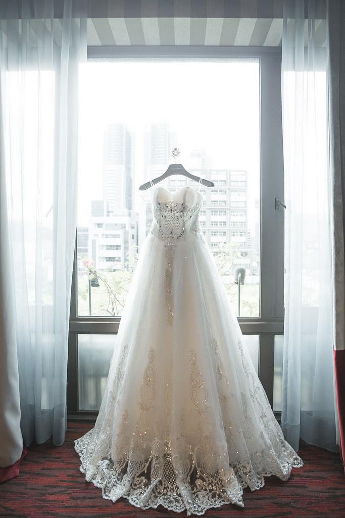 0001婚禮紀錄-婚攝-維多麗亞酒店-白紗