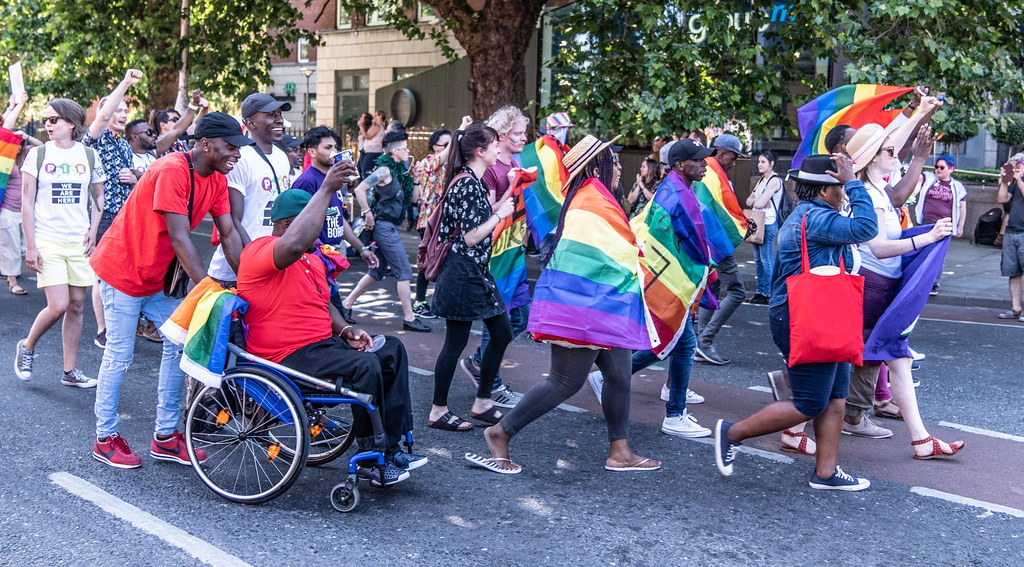 ABOUT SIXTY THOUSAND TOOK PART IN THE DUBLIN LGBTI+ PARADE TODAY[ SATURDAY 30 JUNE 2018] X-100161