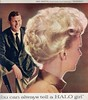 Halo 1958 (barbiescanner) Tags: halo andygriffith shampoo vintage retro fashion vintagefashion 50s 50sfashions 1950s 1950sfashions 1958 vintageads 50sads