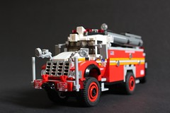 FDNY TSU 1 (sponki25) Tags: fdny moc lego new york city fire department legonyc tsu 1 tactical support unit international 7500 seagrave 4x4 2016