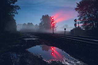 Moonlight Greenville Reflections
