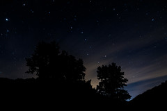 Ursa Major (OrangeAtticCreative) Tags: clouds distant dusk evening galactic galaxy landscape longexposure nature night nightsky nighttime peaceful rural scenic silhouette sky space star starry stars trees glouster ohio unitedstates us ursa major big dipper natural