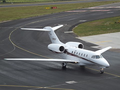 D-BEEP Textron Cessna Citation 750X Air X Executive Jets GmbH (Aircaft @ Gloucestershire Airport By James) Tags: luton airport dbeep textron cessna citation 750x air x executive jets gmbh bizjet eggw james lloyds