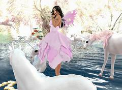 Faeire Fye! (Fye Miles (Second Life)) Tags: faerie fairy fantasy mystical magical imagination luanes vanillabae argrace maitreya secondlife sl secondlifefun sexy slphotography secondlifephotography unicorn brunette cae virtualworld virtualworlds 3dworld