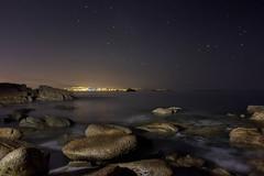 Areamilla. Cangas (kiko_-46-) Tags: paisajescosteros paisajes paisajesnocturnos noche efectos largaexposicion cangas pontevedra españa