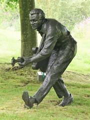 Chuck Berry, Kate Braine, 1997 (jacquemart) Tags: felixdennis garden sculpture chuckberry katebraine 1997