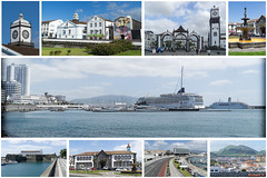 Montage Ponta Delgada, Portugal (rivai56) Tags: montage pontadelgada portugal europe norwegianjade collage de photos ponta delgada au norwegian jade