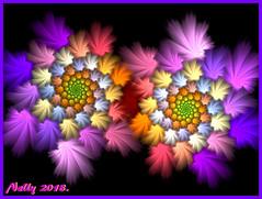 *In the night... (MONKEY50) Tags: fractal art digital abstract colors purple autofocus spiral hypothetical musictomyeyes artdigital flickraward contactgroups awardtree netartii exoticimage
