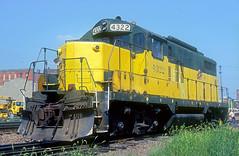 C&NW GP7R 4322 (Chuck Zeiler) Tags: cnw gp7r 4322 railroad emd locomotive sterling train chuckzeiler chz