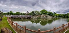 Himeji Castle (姫路城) (Gerald Ow) Tags: himejishi hyōgoken japan jp himeji castle 姫路城 日本 panorama himejijō geraldow landscape travel cloud sky samsung s8