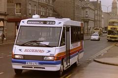 STAGECOACH BLUEBIRD 293 E713LYU (bobbyblack51) Tags: stagecoach bluebird 293 e713lyu mercedes benz 811d optare star rider london buses sr3 aberdeen 1996