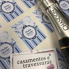 Rótulos adesivos para Baby Chandon  📍escolha cores e textos! 📍de SP para todo o Brasil 🎁casamentosetravessuras.com #casamentosetravessuras (casamentosetravessuras) Tags: instagram facebookpost lembrancinhas personalizadas