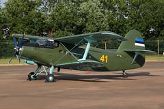 41 (Ian.Older) Tags: antonov an2 estonia air force 41 military aviation riat fairford ämari airshow aircraft biplane