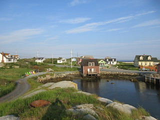 Inlet from Lobster Lane, Peggy's Cove, Nova Scotia