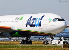 F-WWYP Airbus A330 Neo Azul (@Eurospot) Tags: fwwyp pranz airbus a330 a330900 azul neo toulouse blagnac